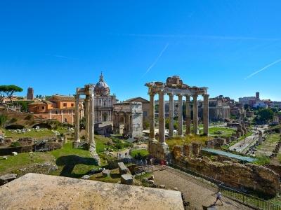 Rzym - wycieczka samolotem