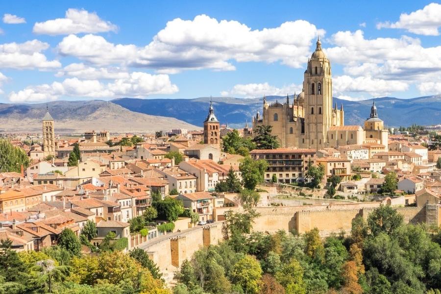 Segowia katedra wyjazd incentive do Hiszpanii