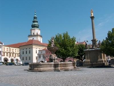 Rynek w Kromierzyżu - trzydniowa wycieczka na Morawy