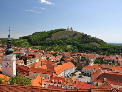 Wycieczka na wino do Czech widok na Mikulov