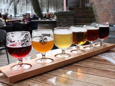 Wycieczka na piwo do Belgi i deska degustacyjna piw