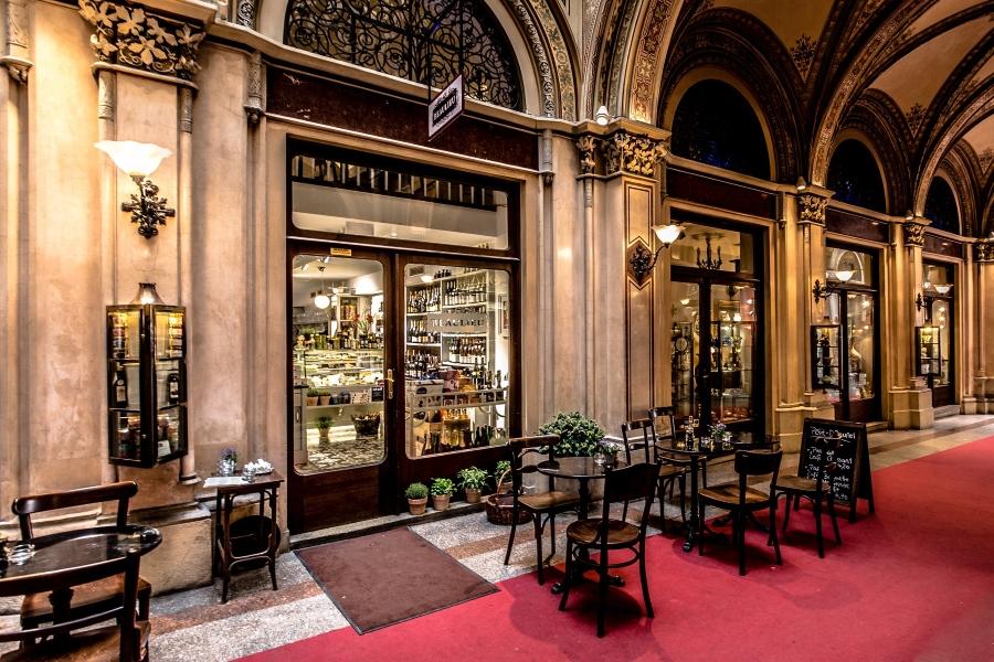Wiedeńska kawiarnia