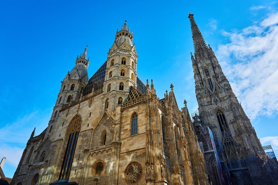 Wycieczka do Wiednia. Katedra św. Szczepana