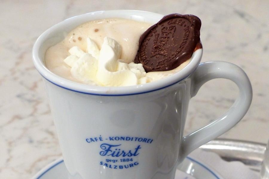 Wycieczka do Sazlburga i wizyta w kawiarni i cukierni Furst