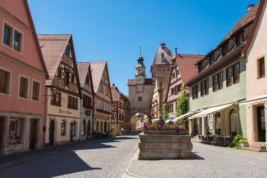 Wycieczka do Bawarii z wizytą w Rothenburg ob der Tauber
