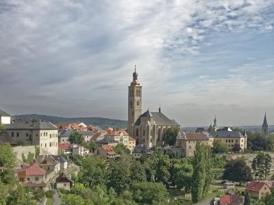Wycieczka do Czech do Pragi i Kutnej Hory. Widok na miasto Kutna Hora