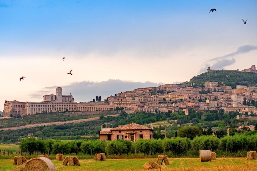 Wycieczki do Włoch ze zwiedzaniem Asyżu
