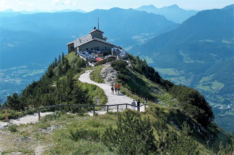 Szczyt Kehlstein w Alpach Bawarskich