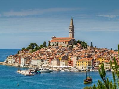 Wycieczka do Chorwacji na Półwysep Istria. Widok na Rovinj